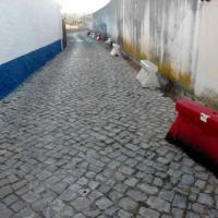 Condeixa-a-Velha -  Rua Cabine, execução de gradilha e valeta